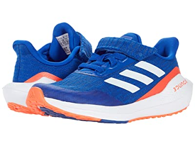adidas Kids EQ Run Elastic (Little Kid) (Team Royal Blue/White/Solar Red) Kid