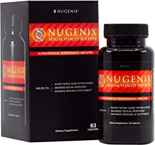 Nugenix Sexual Vitality Booster - Ultra Premium Performance Amplifier for Men - Nitric Oxide Supplement