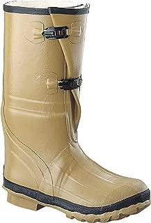 "Ranger 16"" Heavy Duty Men's Rubber Insulated Work Boots, Marsh Brown (78590)"