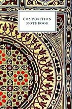 Compositon Notebook: Goregous Geometric Pattern Muslim Journal|6x9|120page|Matte Cover|Blank Islamic Gratitude Journal |Pe...