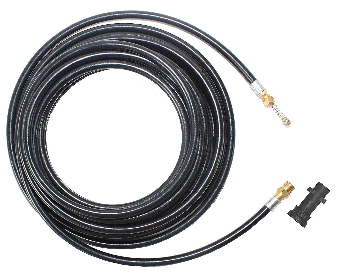 チーフ必要としている速報XZT A13-K3 2300PSIパイプ洗浄ホース下水管排水ホースためにKarcher 高圧洗浄機用 (7.5m)