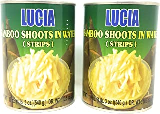 Lucia Bamboo Shoots in Water (Strips) 540g, 2 Pack