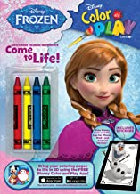 Bendon Disney Frozen Color and Play 32-Page Activity Book