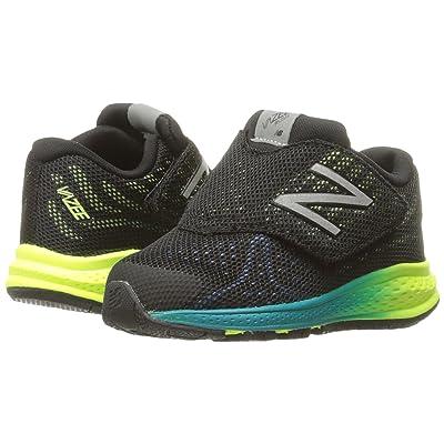 New Balance Kids Vazee Rush v2 (Infant/Toddler) (Black/Yellow) Boys Shoes