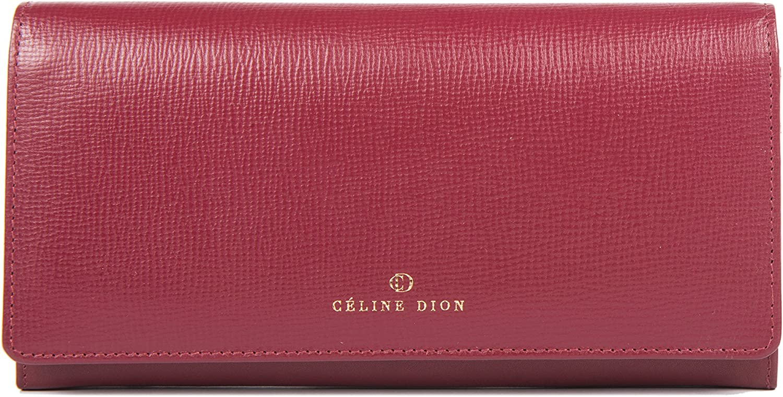Céline Dion Cavantina Ladies Wallet (Dark Red)