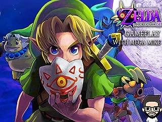 The Legend Of Zelda Majora's Mask 3D Gameplay With Mega Mike