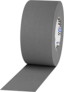 ProTapes Pro Gaff Premium Matte Cloth Gaffer's Tape With Rubber Adhesive, 11 mils Thick, 55 yds Length, 3
