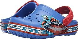 Crocband Captain America Clog (Toddler/Little Kid)