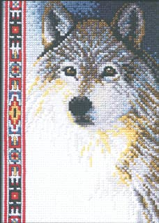 santa of the forest cross stitch