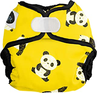 Imagine Baby Products Newborn Diaper Cover, Hook & Loop, Panda Fold