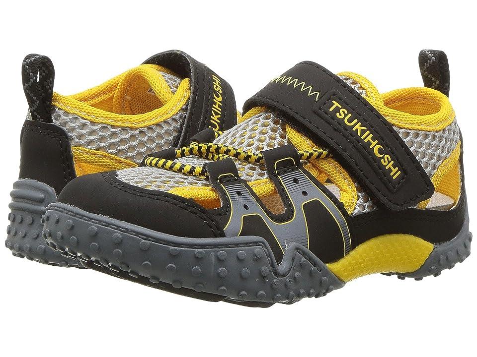 Tsukihoshi Kids Ibiza 2 (Toddler/Little Kid) (Black/Yellow) Boys Shoes