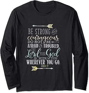 Bible Verse T-Shirt Quote - JOSHUA 1:9