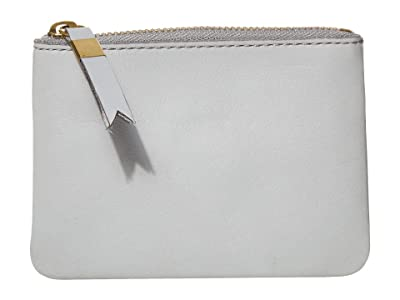 Madewell Leather Pouch Wallet (Craft Blue) Handbags