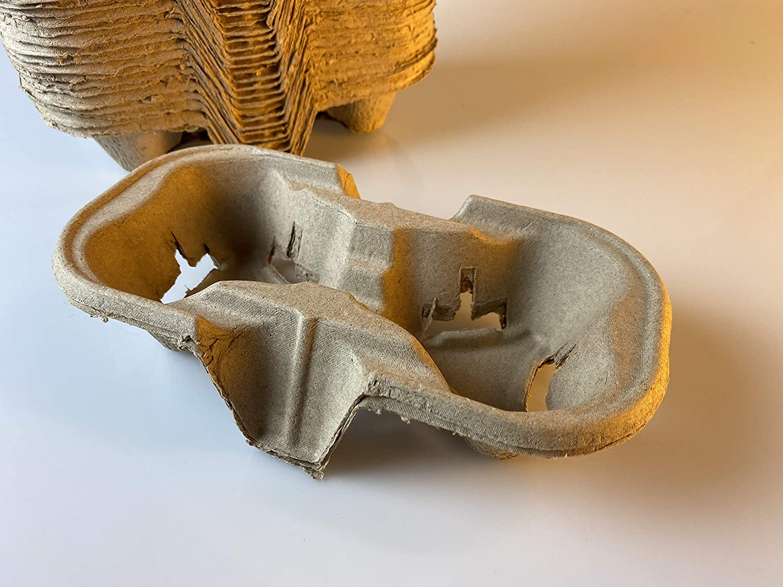 Footprint 2-Cup Drink Carriers Superlatite Sale 400 Premi - Biodegradable Pack