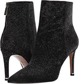 Black Multi Glitter Suede