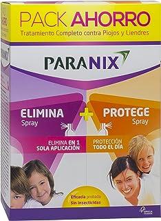Paranix Paquete Spray de Tratamiento y Spray Preventivo Tratamiento para Piojos y Liendres Incluye Lendrera - Sin insecti...