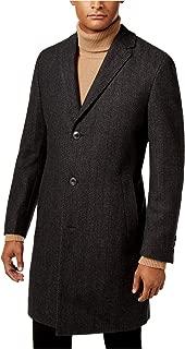 Hugo Boss Mens Red Label Herringbone Overcoat Dress