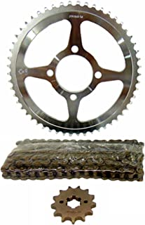Front 13T Rear 54T Sprockets Heavy Duty Non O-Ring 124 Link Chain Yamaha 2002-up TTR125, TTR125E 16