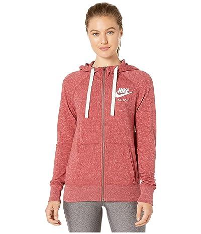 Nike Gym Vintage Full Zip Hoodie (Cedar/Sail) Women