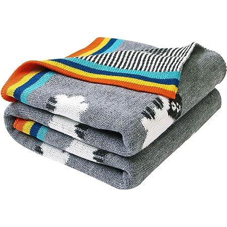Orange and Green Nursery Bedding Sheep Toddler Blanket Sheep Baby Bedding Crib Blanket Organic Sheep Baby Blanket Day Care Blanket