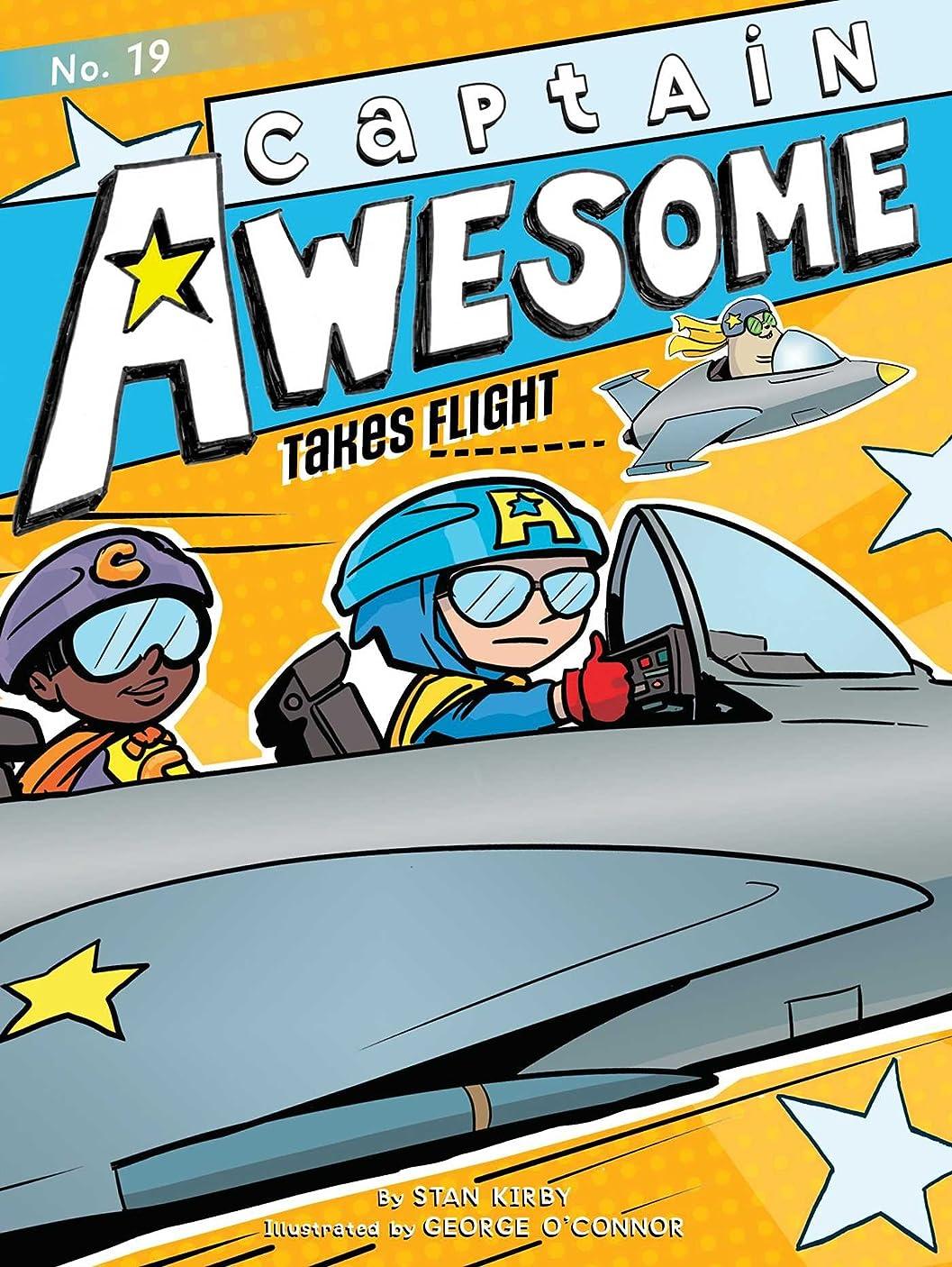 フォーマット窓を洗うパトロンCaptain Awesome Takes Flight (English Edition)