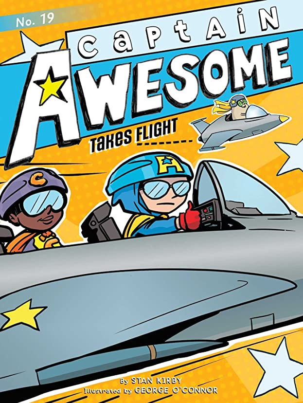 批判的に絶滅させる確かにCaptain Awesome Takes Flight (English Edition)