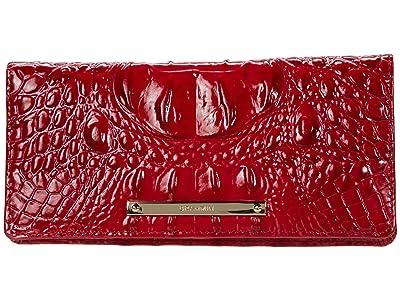 Brahmin Melbourne Ady Wallet (Ember) Wallet Handbags