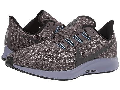 Nike Air Zoom Pegasus 36 (Thunder Grey/Black/Pumice/Stellar Indigo) Men
