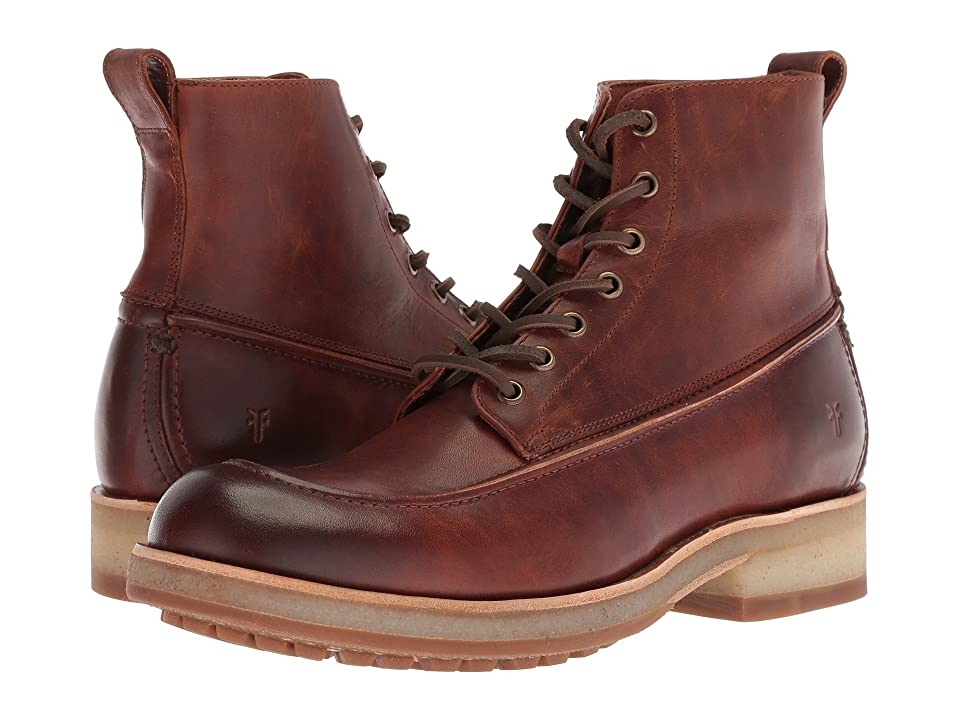 Frye Rainer Workboot (Cognac Antique Pull Up) Men