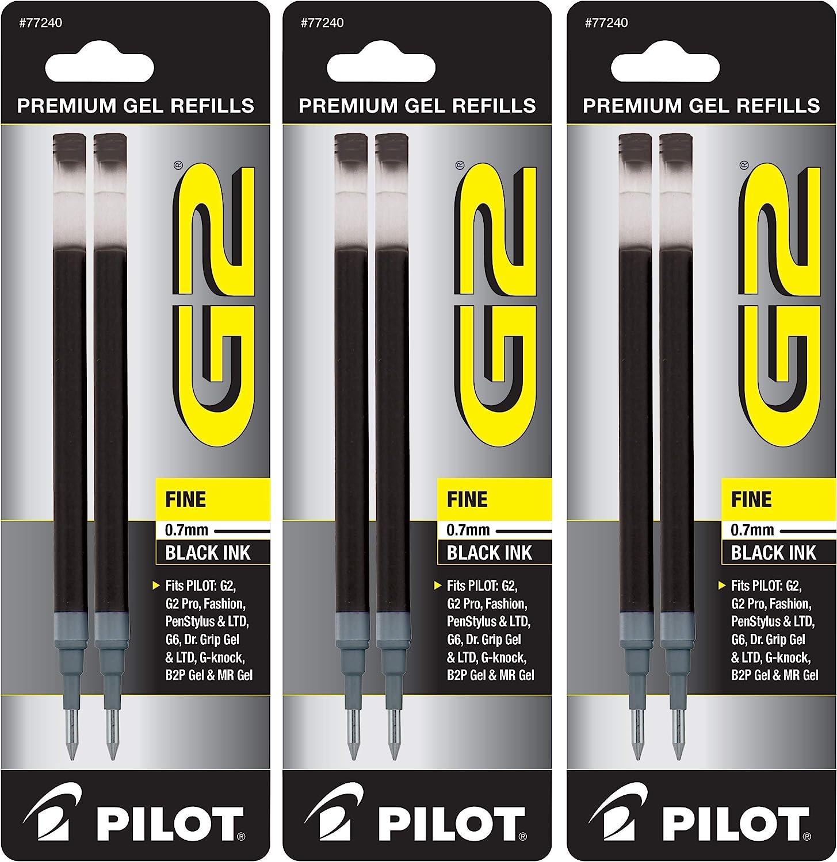 PILOT Gel Ink Refills for G2 Dr. G6 Po Q7 Fine ExecuGel Max 57% Elegant OFF Grip