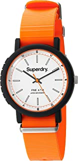 Superdry Campus NATO Analog White Dial Women's Watch-SYG197O