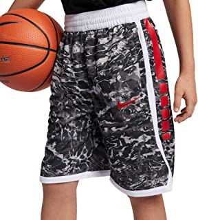 Nike Boy's Dri-FIT Elite Printed Basketball Shorts