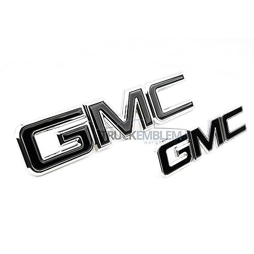 4491d657af9 2 NEW CUSTOM 15-17 GMC YUKON XL DENALI CHROME   BLACK GRILL   LIFT