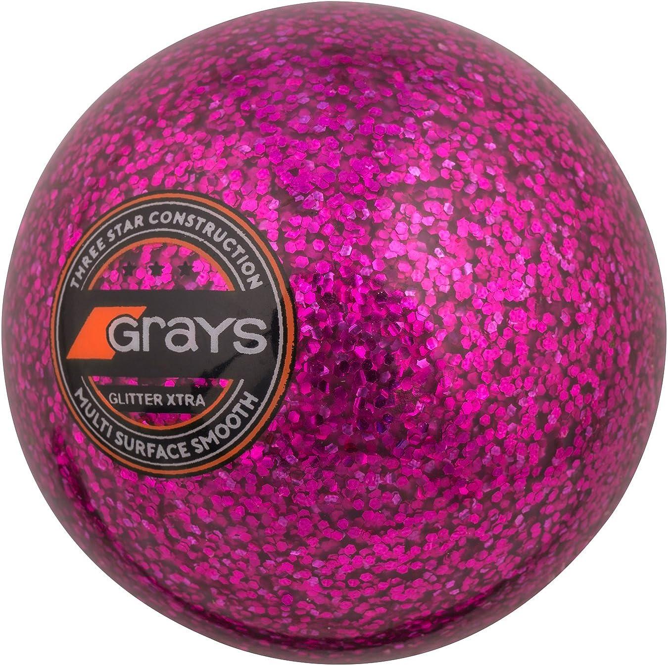 GRAYS New Free Shipping Glitter Xtra Hockey Pink OFFer Ball -