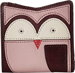 Owl Novelty Rfid Mini Wallet