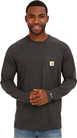 Carhartt - Force® Cotton Delmont Long-Sleeve T-Shirt
