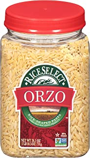 RiceSelect Original Orzo, 26.5-Ounce Jars, 4-Count