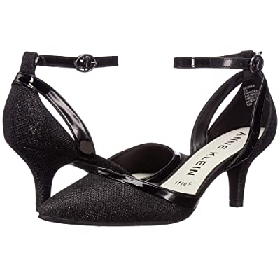 Anne Klein Freda (Black Glamour Patent) Women