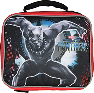 Marvel Black Panther Soft Lunch Box Tote Kit Insulated