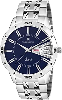 TIMEWEAR Day & Date Functioning Chain Watch for Men