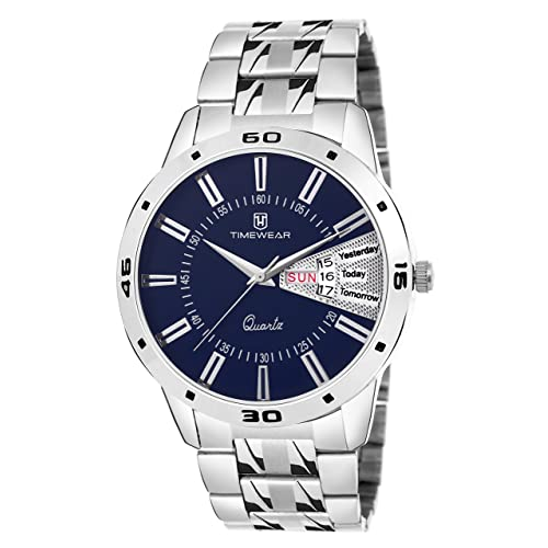 TIMEWEAR Analog Day Date Functioning Watch for Men