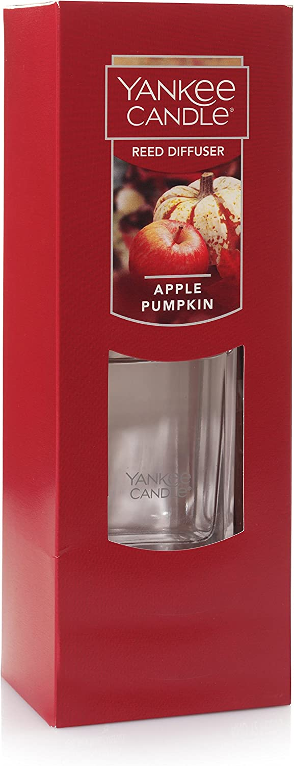 Amazon Com Yankee Candle Reed Diffuser Spiced Pumpkin Home Kitchen