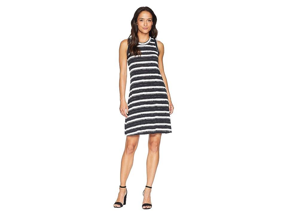 Karen Kane Halter Dress (Stripe) Women