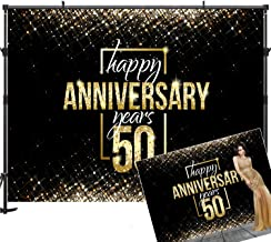 Best golden anniversary backdrop Reviews