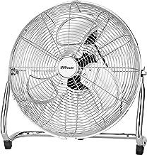 """MVPower Ventilateur de Sol, 16"""" Ventilateur Industriel à volume d'air élevé, Pales Métalliques, Moteur en Cuivre, Finition..."""