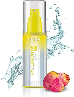 ALCINA Hyaluron 2.0 Spray, Hyaluronic Acid & Prickly Pear extract optimally pamper dry & brittle hair. Smooth, radiant, ea...