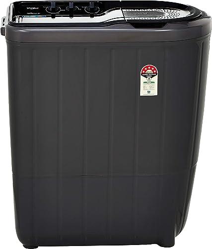 Whirlpool 6 Kg 5 Star Semi Automatic Top Loading Washing Machine SUPERB ATOM 60I Grey Dazzle
