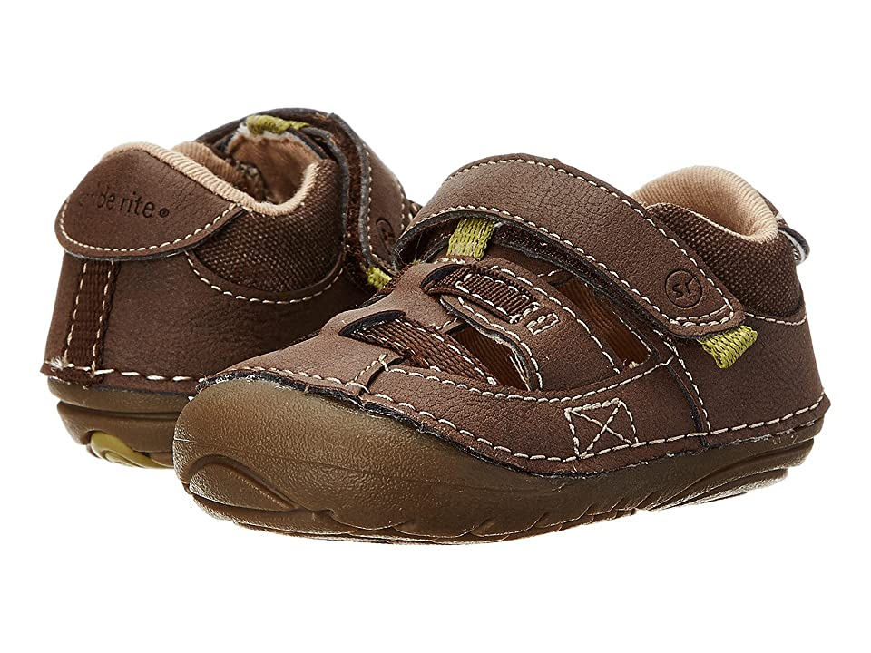 Stride Rite SRT SM Antonio (Infant/Toddler) (Brown) Boys Shoes