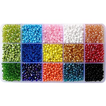 Glass Seed Beads 6//0 Frosted Ruby Red 4mm about 500 beads 50g BD1272