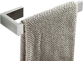 Barra de toalha, suporte de toalha de mão em aço inoxidável SUS 304, suporte de toalha acessório para banheiro, estilo con...